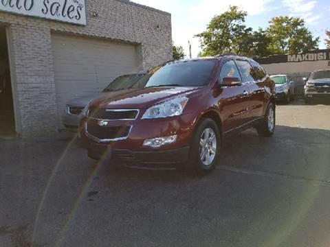 2010 Chevrolet Traverse for sale at New Clinton Auto Sales in Clinton Township MI