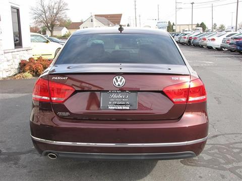 2013 Volkswagen Passat for sale in Ephrata, PA