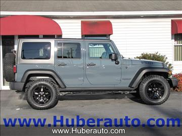 2015 Jeep Wrangler Unlimited for sale in Ephrata, PA