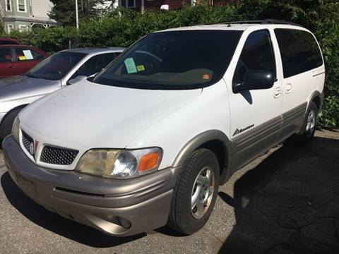 2001 Pontiac Montana for sale in Worcester, MA