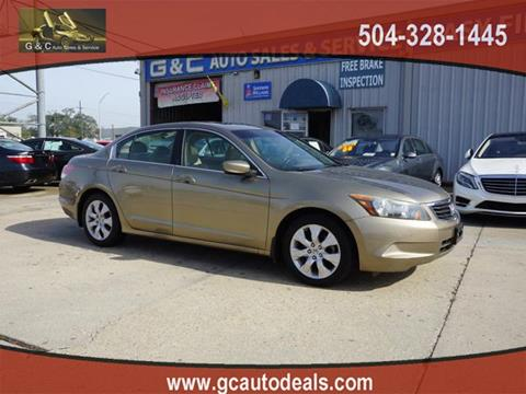 2009 Honda Accord for sale in Marrero, LA