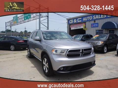 2016 Dodge Durango for sale in Marrero, LA