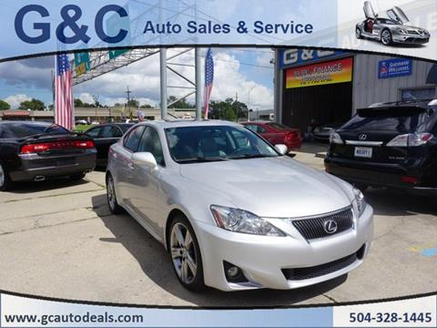 2011 Lexus IS 250 for sale in Marrero, LA
