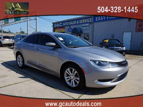2016 Chrysler 200 for sale in Marrero, LA
