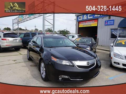 2013 Acura TL for sale in Marrero, LA