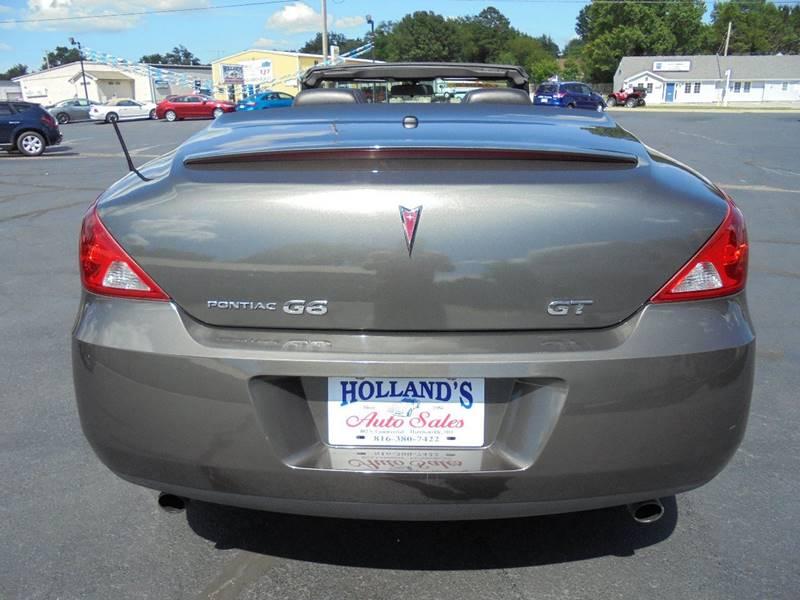 2007 Pontiac G6 GT 2dr Convertible - Harrisonville MO