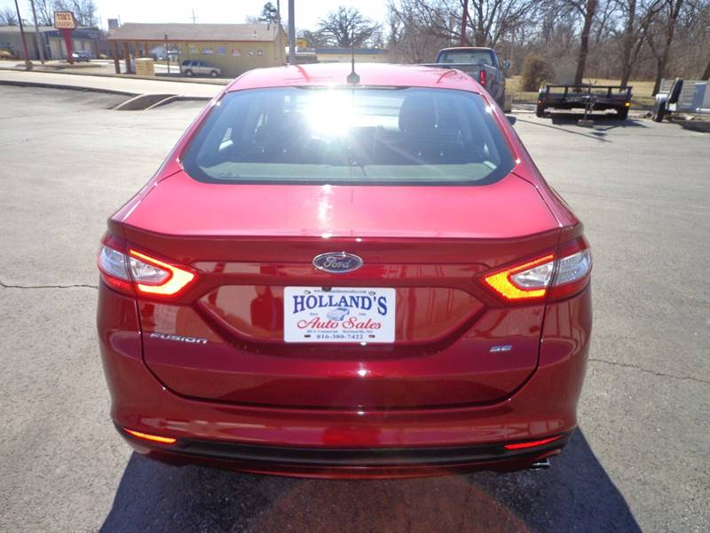 2014 Ford Fusion SE 4dr Sedan - Harrisonville MO