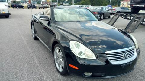 2003 Lexus SC 430 for sale at Kelly & Kelly Supermarket of Cars in Fayetteville NC