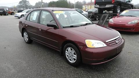 2003 Honda Civic for sale at Kelly & Kelly Supermarket of Cars in Fayetteville NC