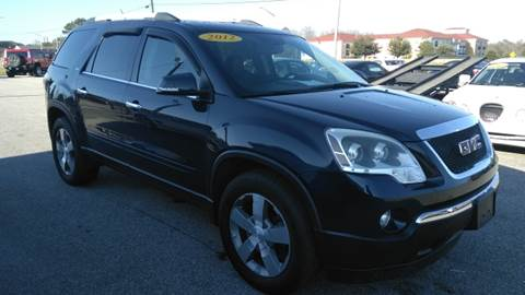 2012 GMC Acadia for sale at Kelly & Kelly Supermarket of Cars in Fayetteville NC