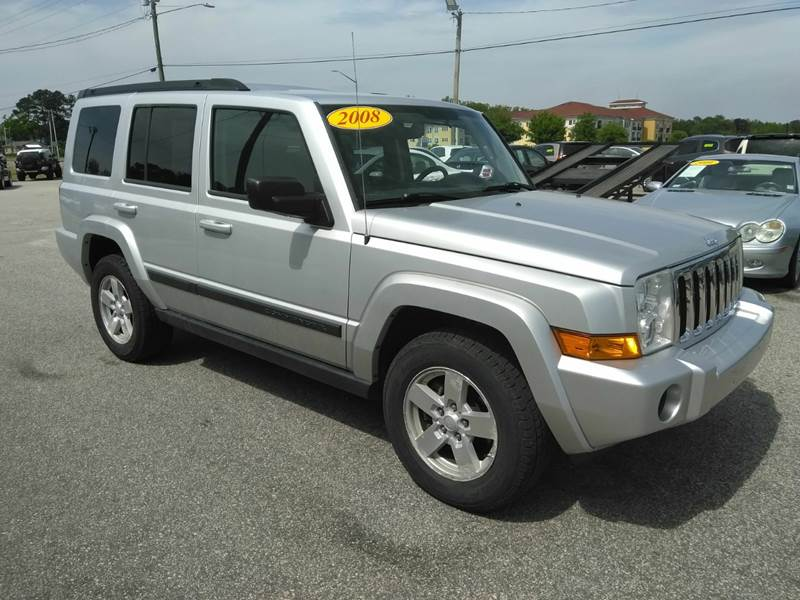 2008 Jeep Commander 4x4 Sport 4dr Suv In Fayetteville Nc Kelly