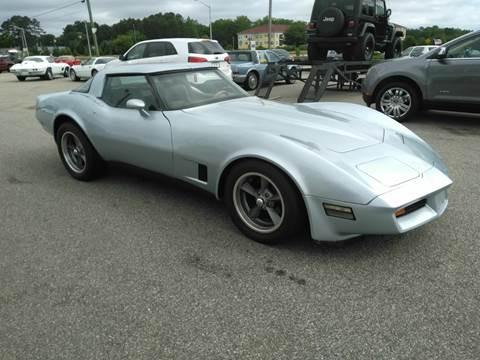 1982 Corvette For Sale >> 1982 Chevrolet Corvette For Sale In Fayetteville Nc