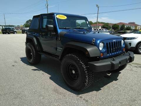 2010 Jeep Wrangler for sale in Fayetteville, NC