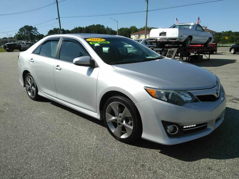 Toyota Fayetteville Nc >> 2014 Toyota Camry Se V6 4dr Sedan In Fayetteville Nc Kelly Kelly