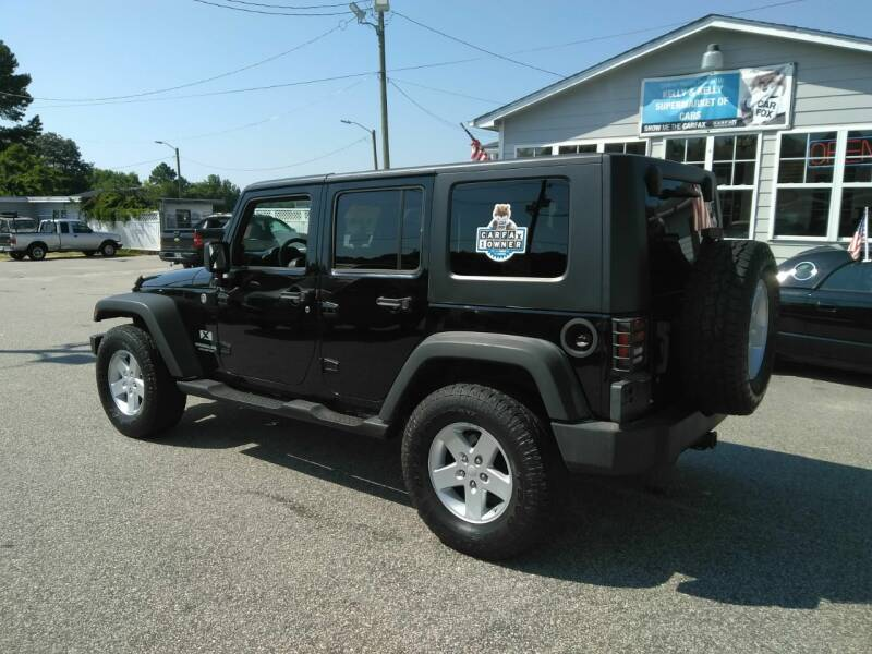 2008 Jeep Wrangler Unlimited 4x4 X 4dr SUV - Fayetteville NC