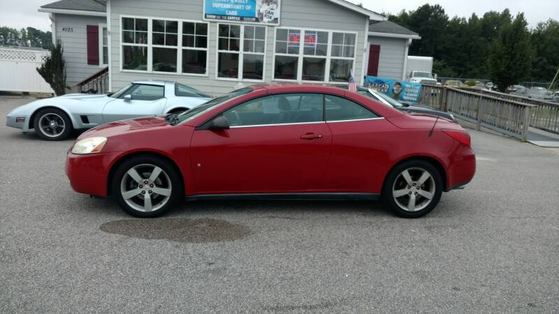 2007 Pontiac G6 GT 2dr Convertible - Fayetteville NC