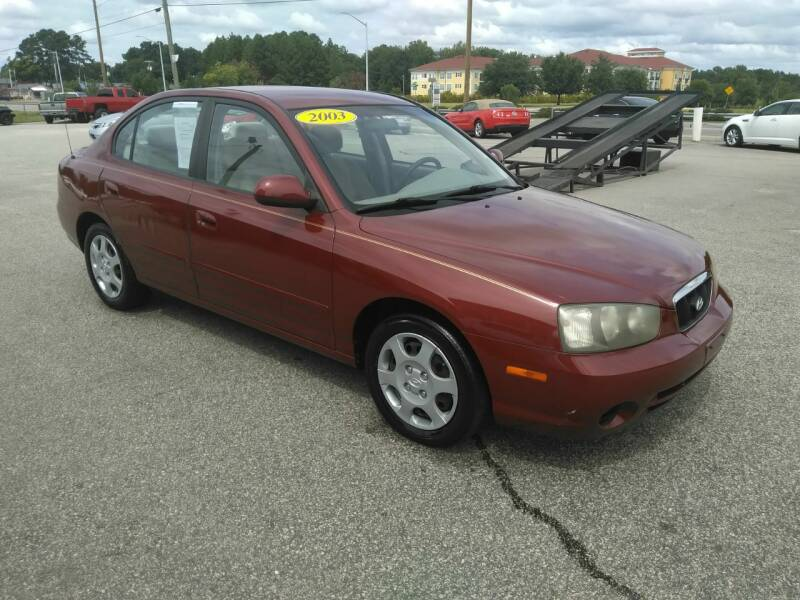 2003 hyundai elantra gls 4dr sedan in fayetteville nc kelly kelly supermarket of cars 2003 hyundai elantra gls 4dr sedan in