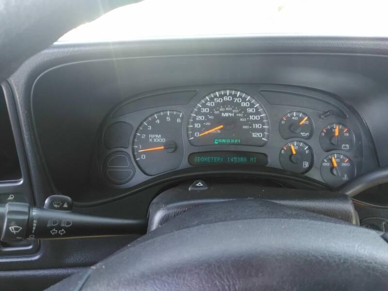2003 Chevrolet Silverado 1500 2dr Standard Cab LS 4WD SB - Fayetteville NC