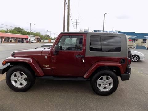 2007 Jeep Wrangler for sale in Lincolnton, NC