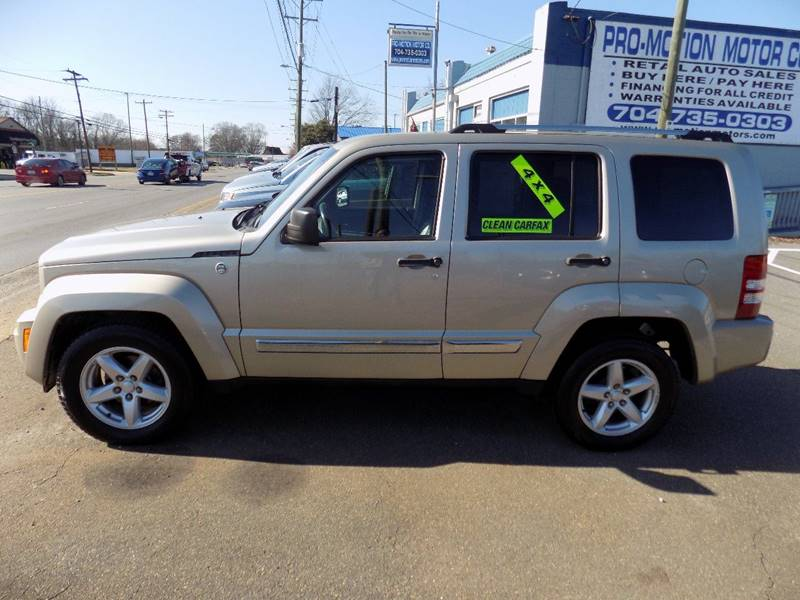 2010 Jeep Liberty for sale at Pro-Motion Motor Co in Lincolnton NC