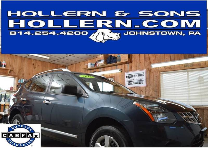 Nissan Dealers Near Johnstown Pa >> 2015 Nissan Rogue Select Awd S 4dr Crossover In Johnstown Pa