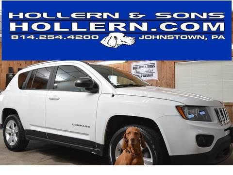 2016 Jeep Compass for sale in Johnstown, PA