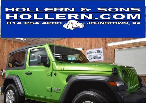 2019 Jeep Wrangler for sale in Johnstown, PA
