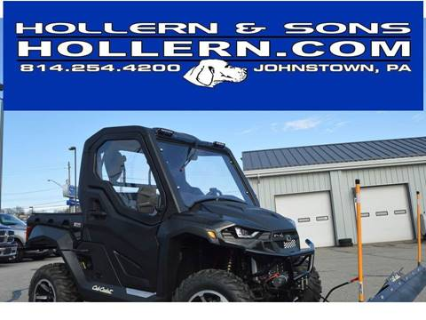 2018 Cub Cadet CHALLENGER 550 4X4 2 PASSENGER for sale in Johnstown, PA