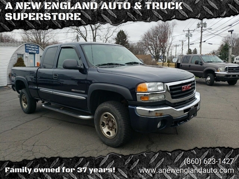 2006 GMC Sierra 2500HD for sale in Suffield, CT
