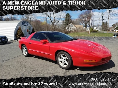 1996 Pontiac Firebird for sale in Suffield, CT