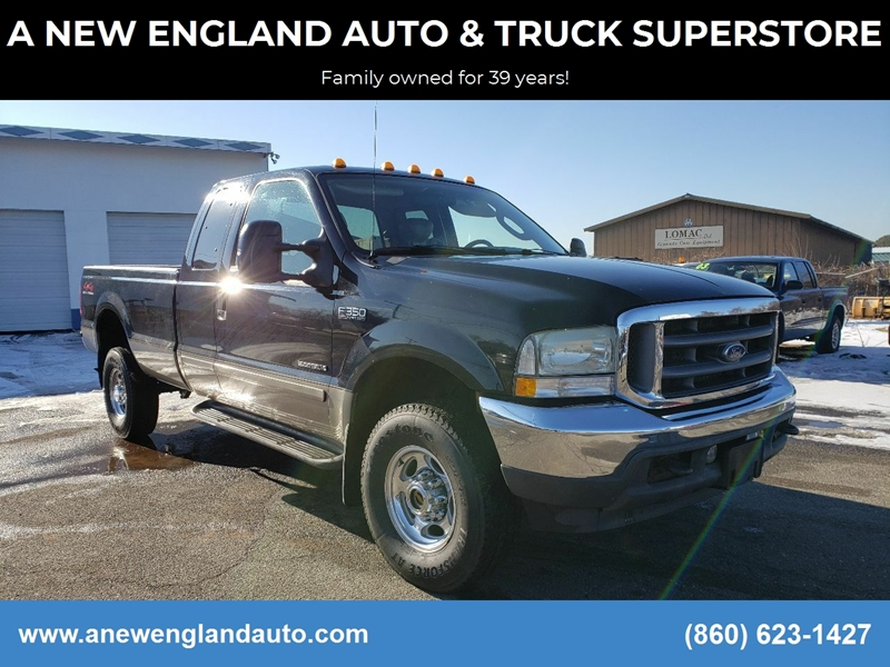 2003 Ford F-350 Super Duty for sale at A NEW ENGLAND AUTO & TRUCK SUPERSTORE in East Windsor CT