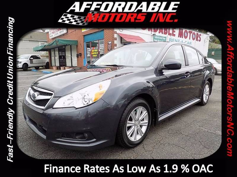 2012 Subaru Legacy for sale at AFFORDABLE MOTORS INC in Winston Salem NC