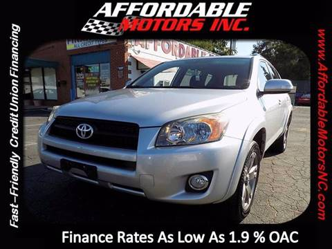 2010 Toyota RAV4 for sale at AFFORDABLE MOTORS INC in Winston Salem NC