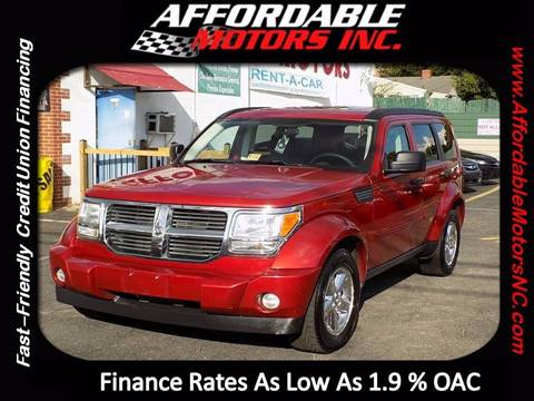 2008 Dodge Nitro for sale at AFFORDABLE MOTORS INC in Winston Salem NC