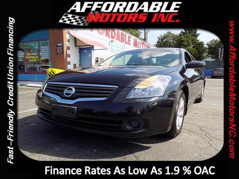 2008 Nissan Altima for sale at AFFORDABLE MOTORS INC in Winston Salem NC