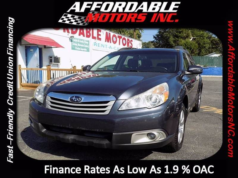 2010 Subaru Outback for sale at AFFORDABLE MOTORS INC in Winston Salem NC