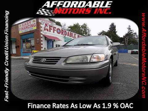 1999 Toyota Camry for sale at AFFORDABLE MOTORS INC in Winston Salem NC