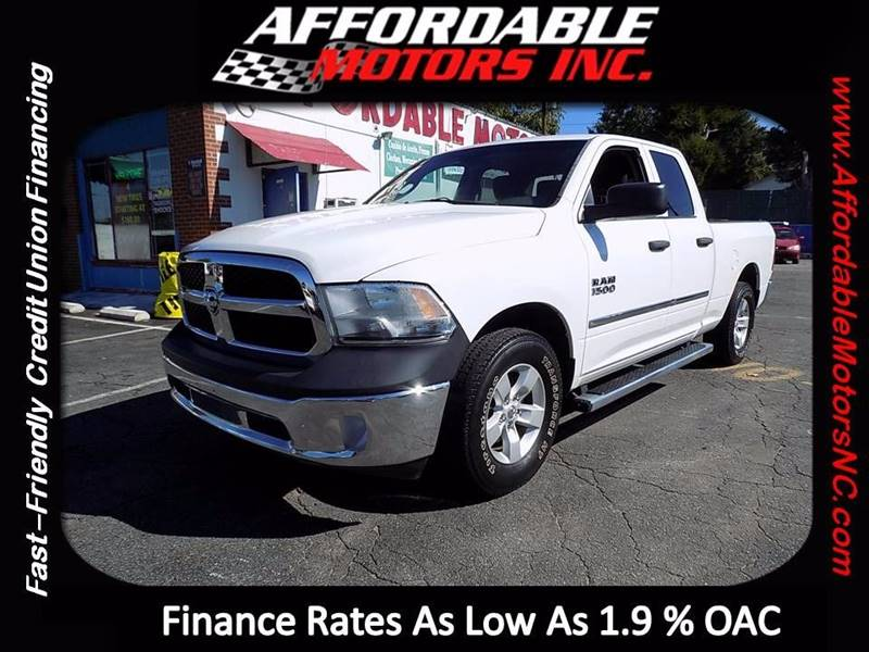 2013 RAM Ram Pickup 1500 for sale at AFFORDABLE MOTORS INC in Winston Salem NC
