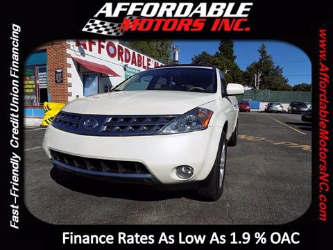 2006 Nissan Murano for sale at AFFORDABLE MOTORS INC in Winston Salem NC