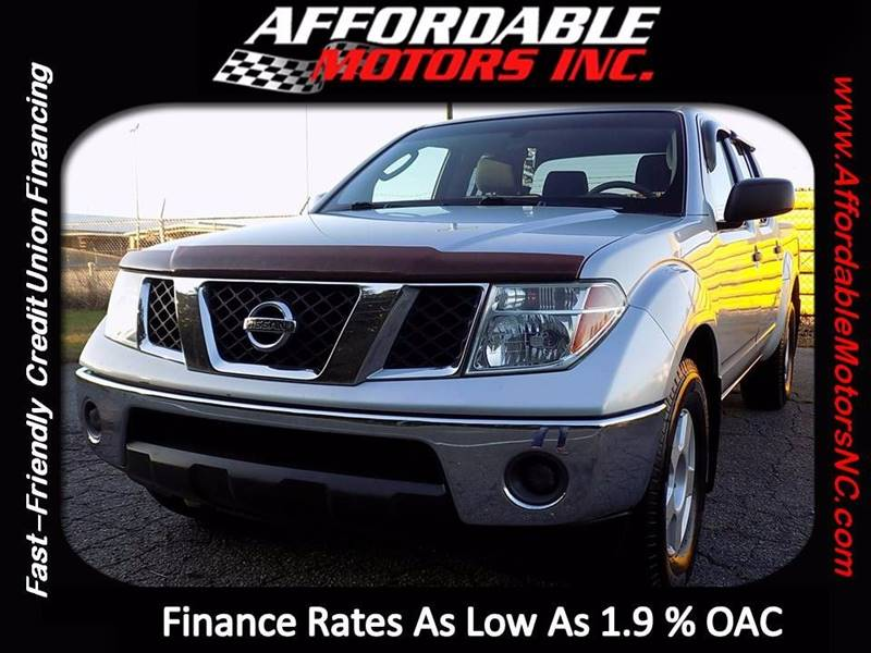 2006 Nissan Frontier for sale at AFFORDABLE MOTORS INC in Winston Salem NC