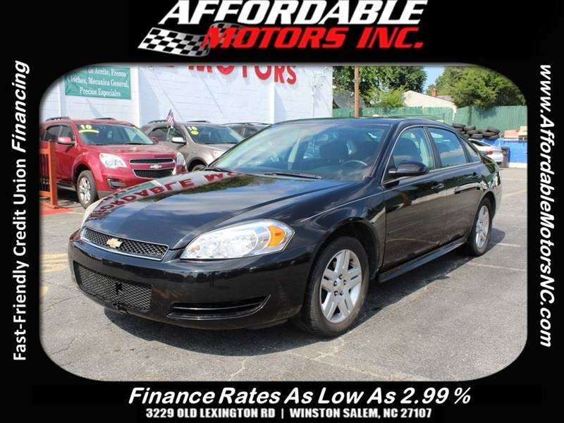 2013 Chevrolet Impala For Sale At AFFORDABLE MOTORS INC In Winston Salem NC