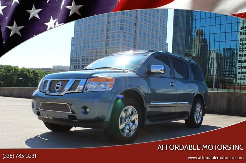 2010 Nissan Armada For Sale At AFFORDABLE MOTORS INC In Winston Salem NC
