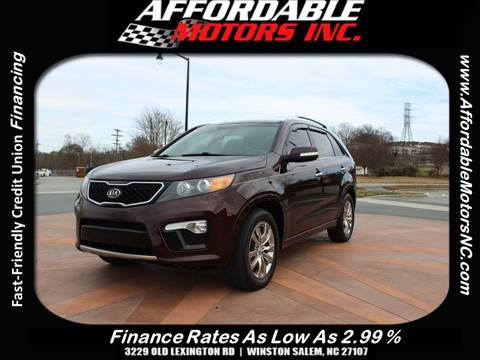 2012 Kia Sorento for sale in Winston Salem, NC
