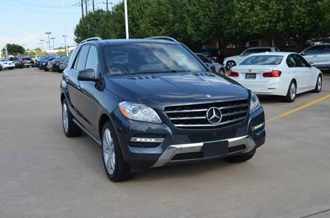 Used mercedes benz m class for sale in dallas tx for Mercedes benz dallas for sale