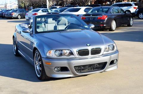 2006 Bmw M3 For Sale In Dallas Tx