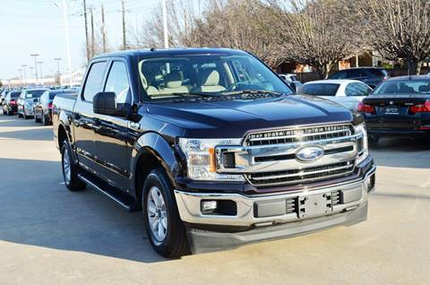 2018 Ford F-150 for sale at Silver Star Motorcars in Dallas TX
