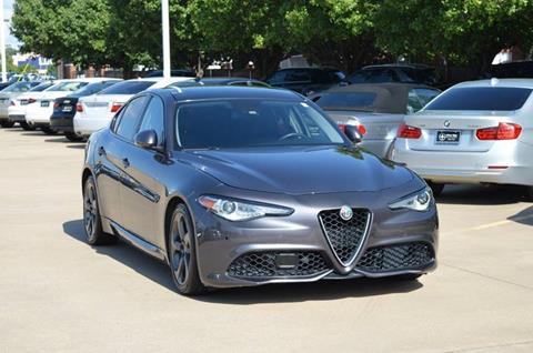 2017 Alfa Romeo Giulia for sale at Silver Star Motorcars in Dallas TX
