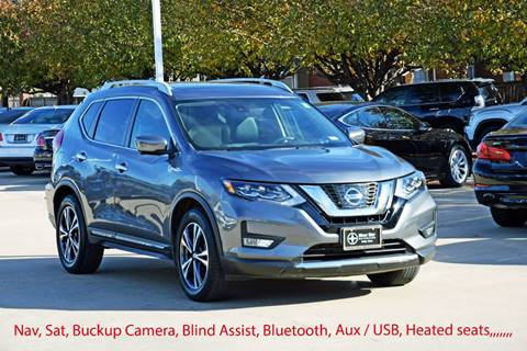 2017 Nissan Rogue for sale at Silver Star Motorcars in Dallas TX