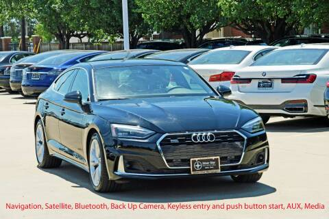 2020 Audi A5 Sportback for sale at Silver Star Motorcars in Dallas TX