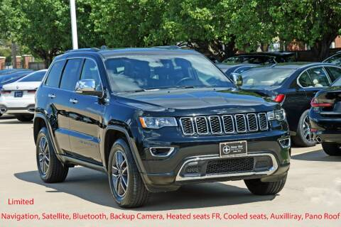2020 Jeep Grand Cherokee for sale at Silver Star Motorcars in Dallas TX
